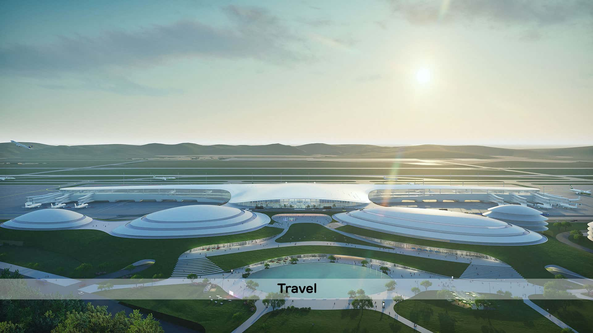 Taichung Airport Proposal 台灣 飛機場
